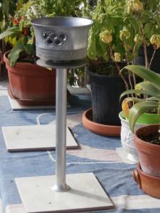 La fiaccola olimpica di Londra '48 in possesso di Ivan Divenuto. E' identica a quella utilizzata durante le Olimpiadi di Cortina '56