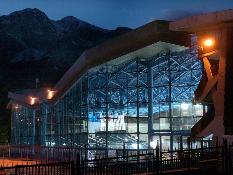 Stadio Olimpico del ghiaccio a Cortina, dove sarà realizzato in centro curling
