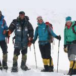 Il team di Simone Moro che ha conquistato il Nanga Parbat d'inverno