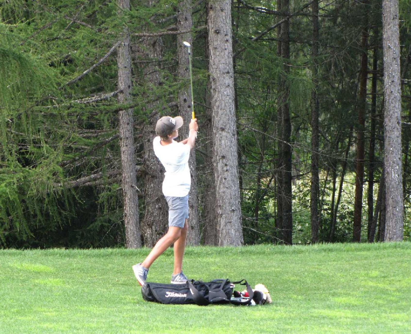 open day golf cortina