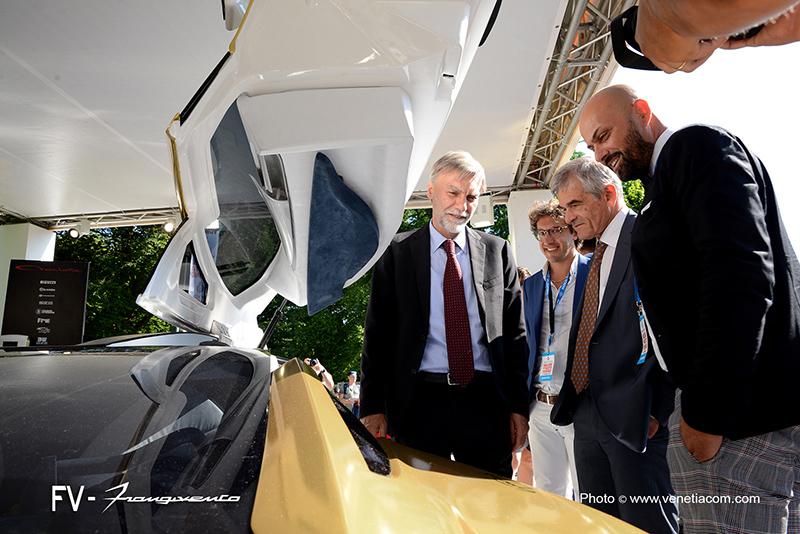 FV Frangivento Giorgio Pirolo e Paolo Mancini con Del Rio e Chiamparino