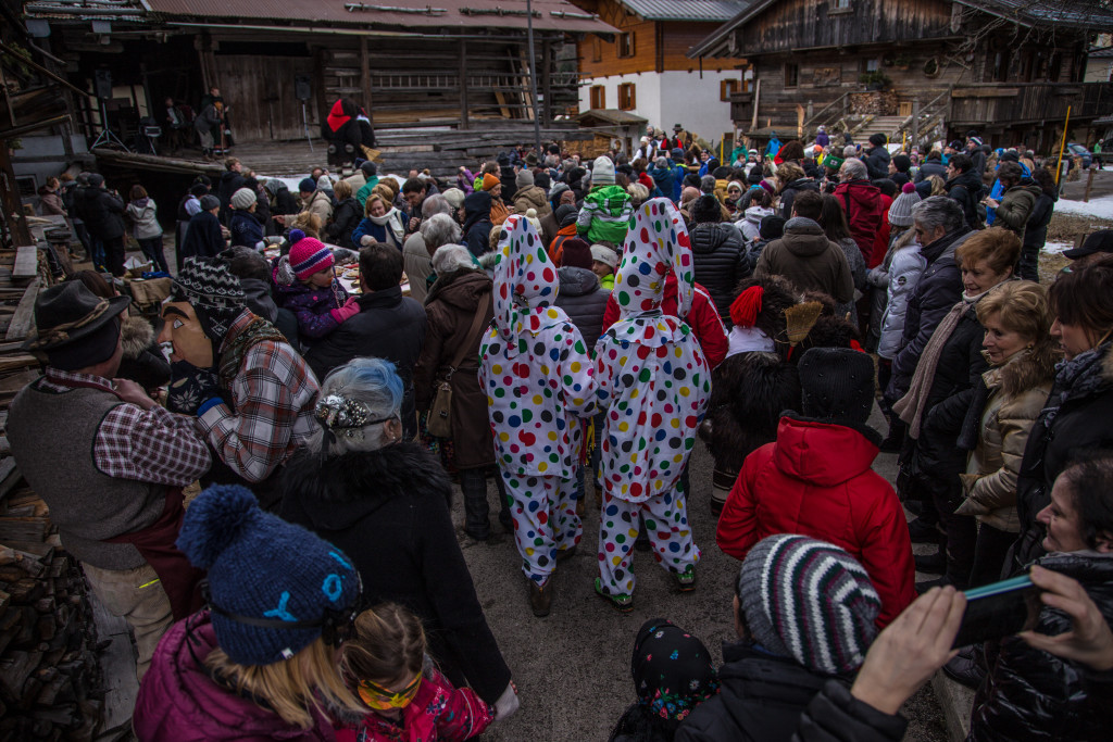 Carnevale in montagna