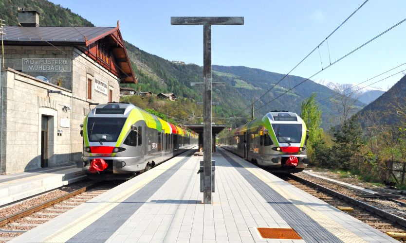 treno delle dolomiti